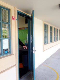 Shelter-in-Place Drill at Marchus School